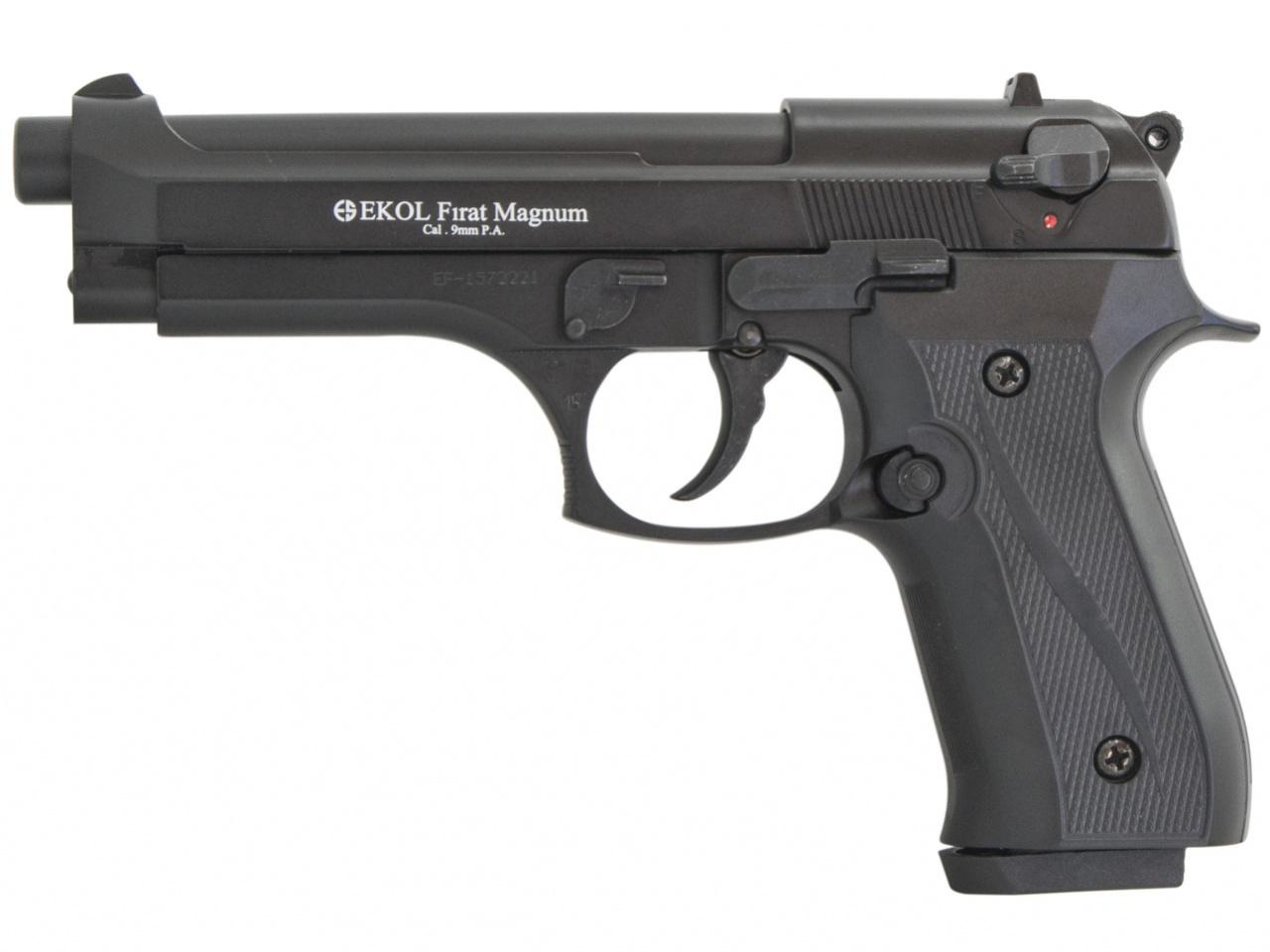 Pistolet gazowy Ekol Firat 92 czarny kal.9mm