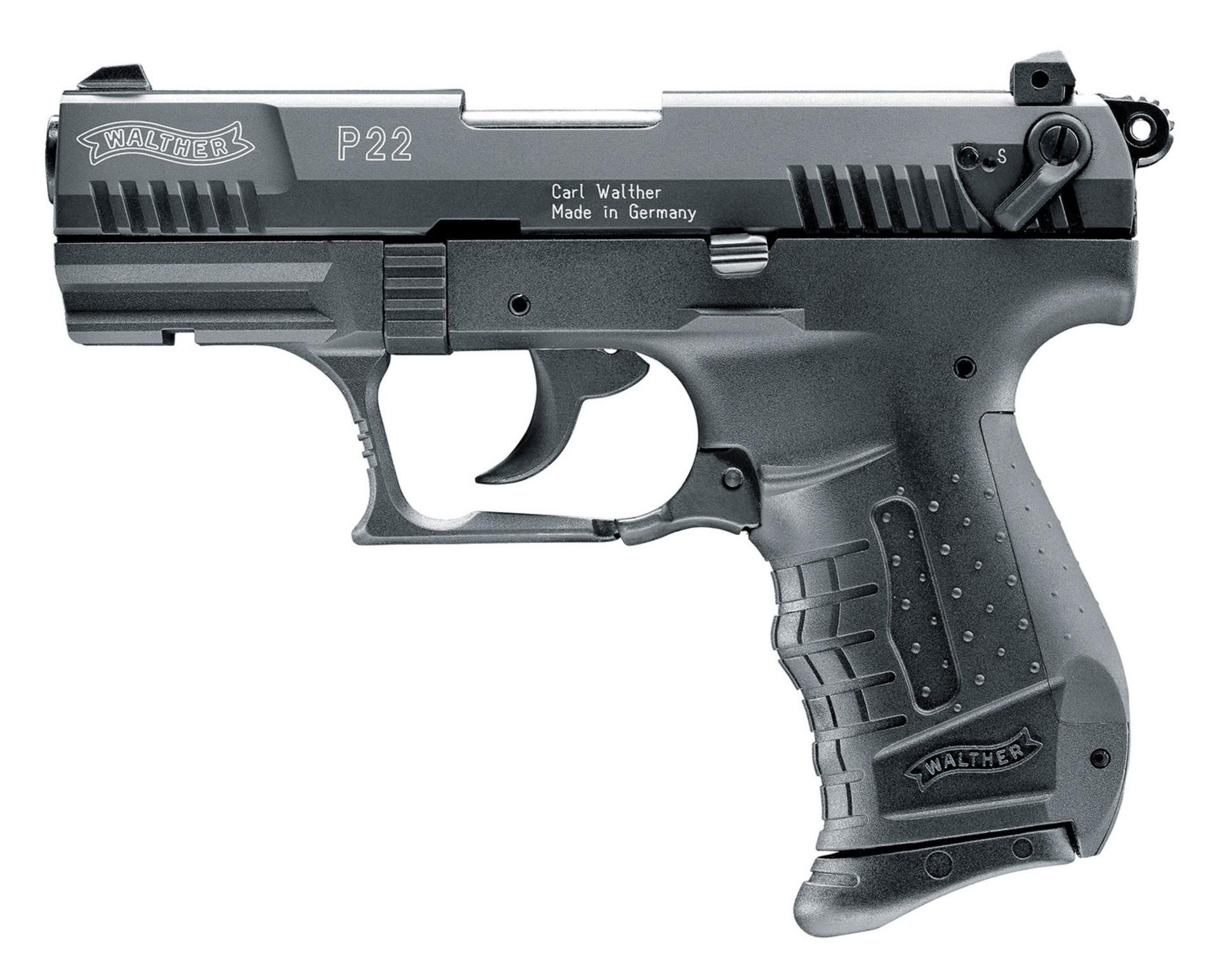 Pistolet gazowy Walther P22 černá cal.9mm