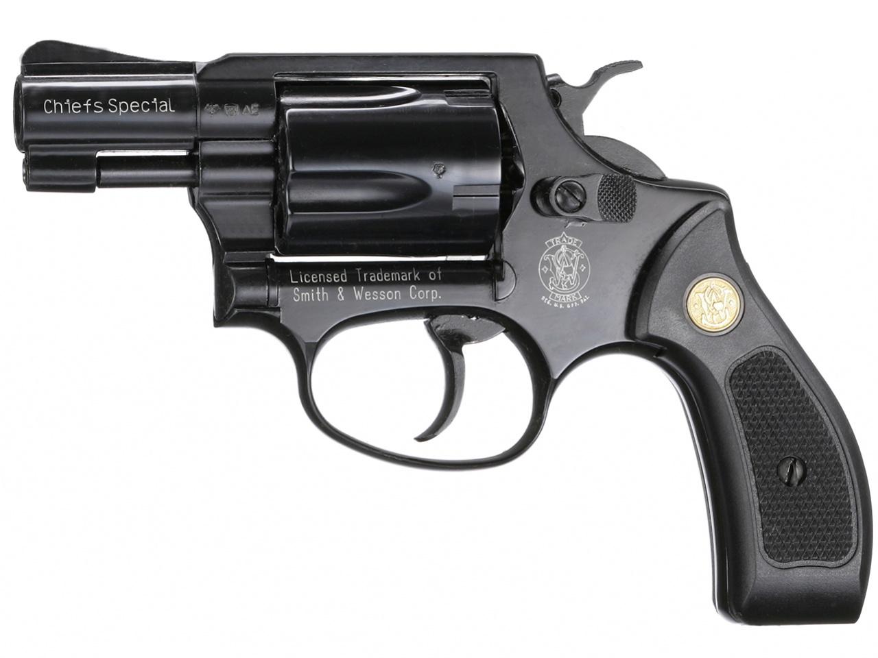 Plynový revolver Smith&Wesson Chiefs Special černý plast cal.9mm