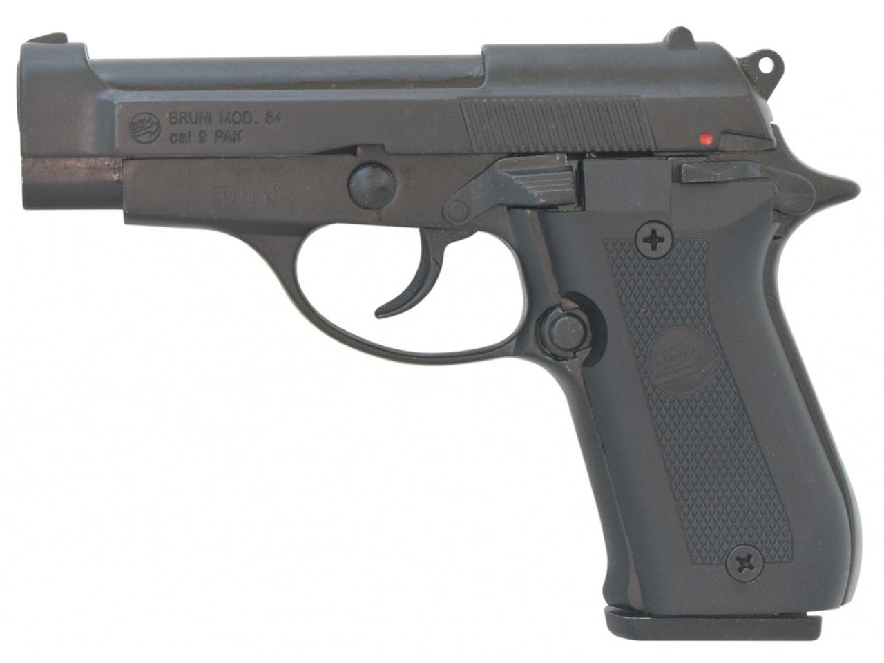 Plynová pistole Bruni 84 černá cal.9mm