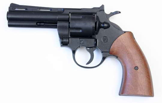 Rewolwer gazowy Bruni Magnum 380 Python czarny kal. 9mm