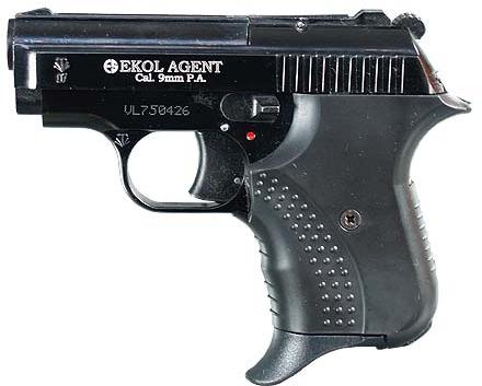 Pistolet gazowy Ekol Agent Volga czarny kal.9mm
