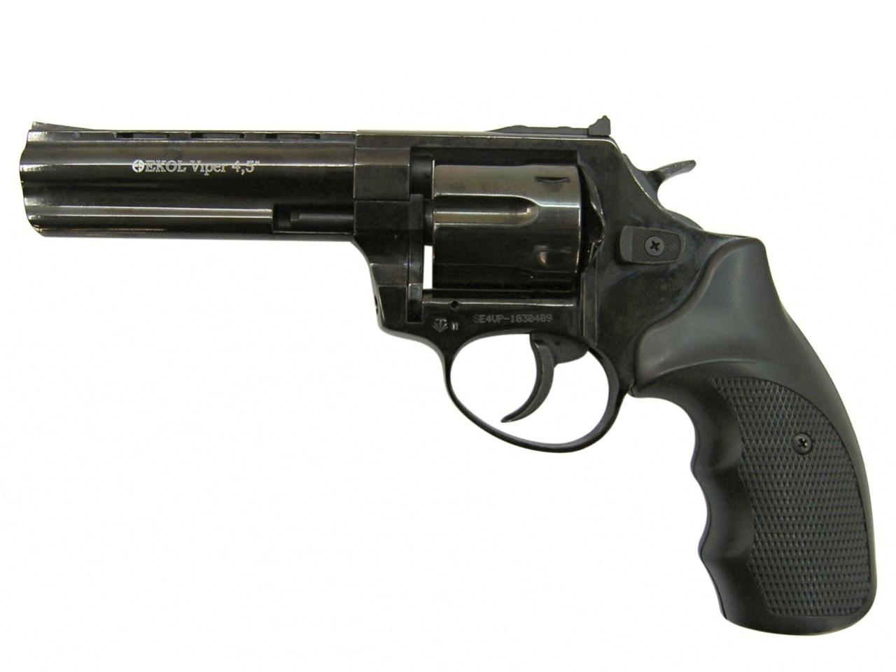 """Rewolwer gazowy Ekol Viper 4,5"""" czarny kal.9mm"""