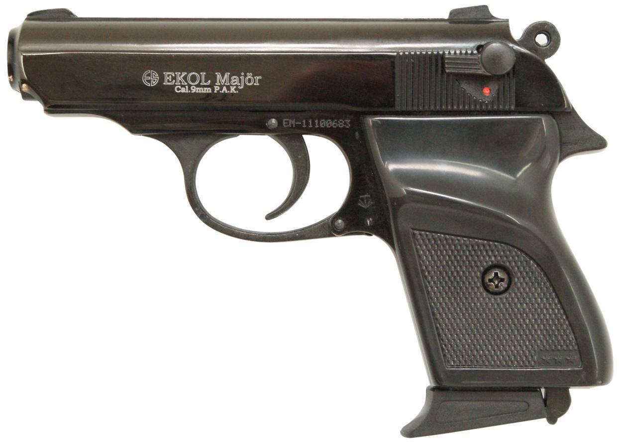 Pistolet gazowy Ekol Major czarny kal.9mm