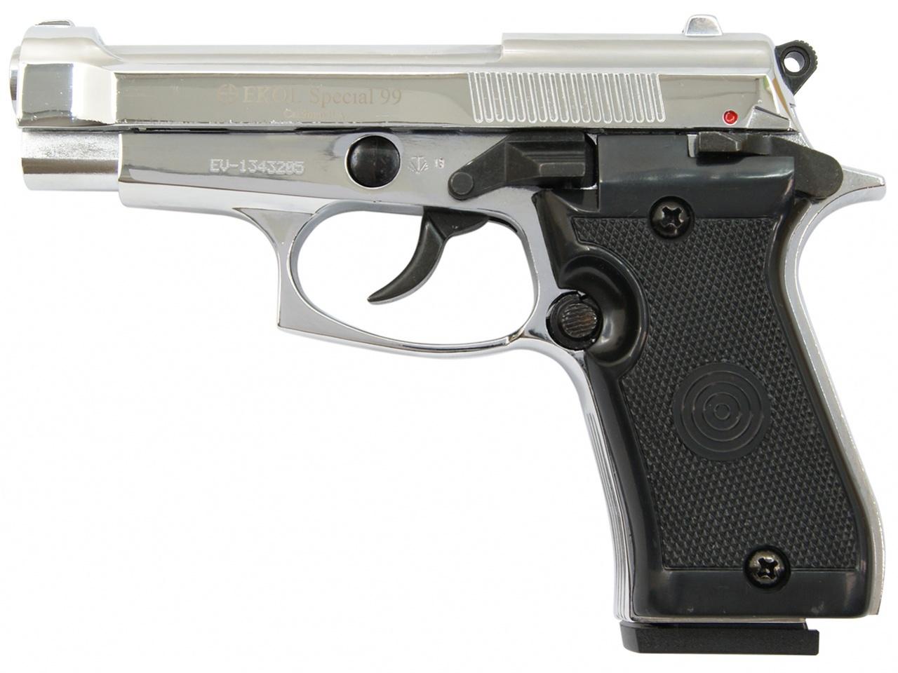 Pistolet gazowy Ekol Special 99 chrom kal.9mm