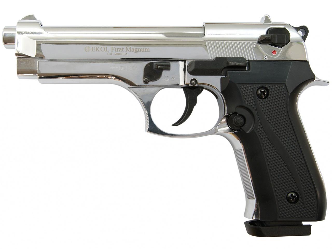 Pistolet gazowy Ekol Firat 92 chrom kal.9mm