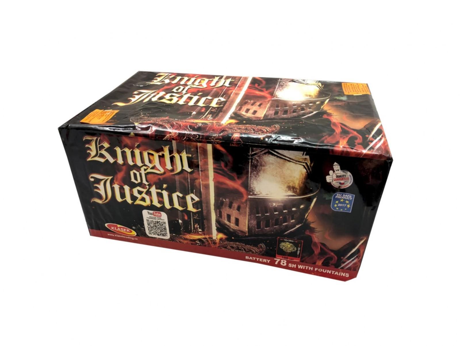 Pyrotechnika Kompakt 78 ran Knight Of Justice multikalibr