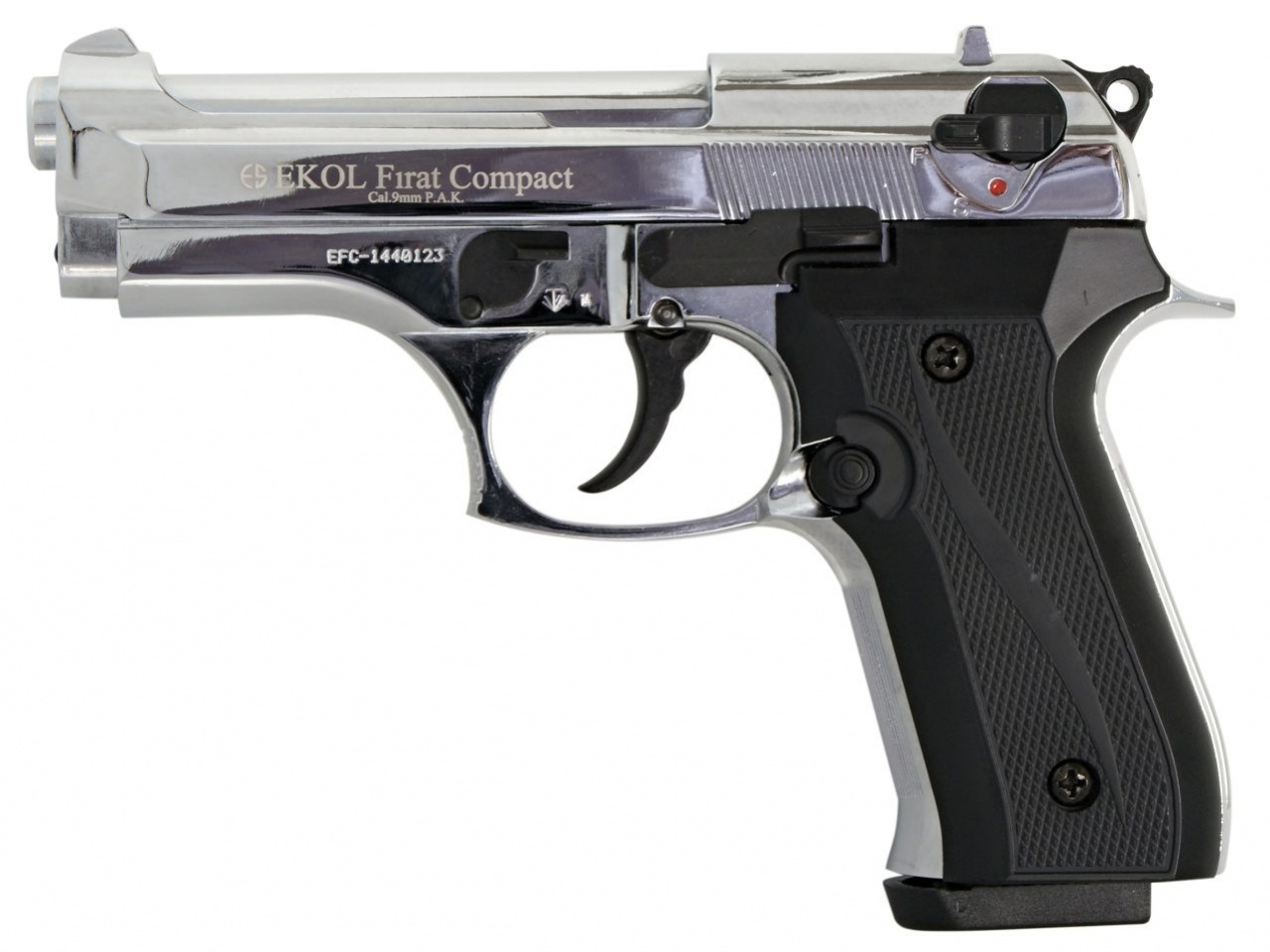 Plynová pistole Ekol Firat Compact chrom cal.9mm
