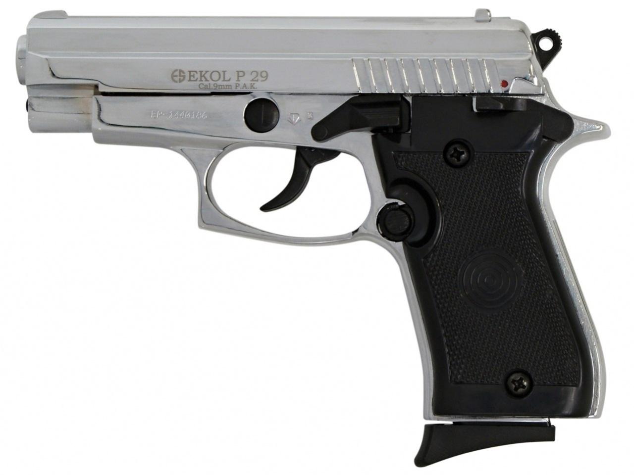 Pistolet gazowy Ekol P29 chrom kal.9mm