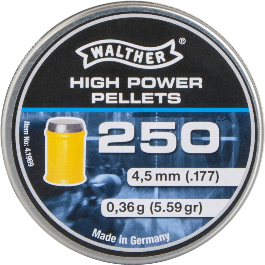 Diabolo Walther High Power 250ks cal.4,5mm
