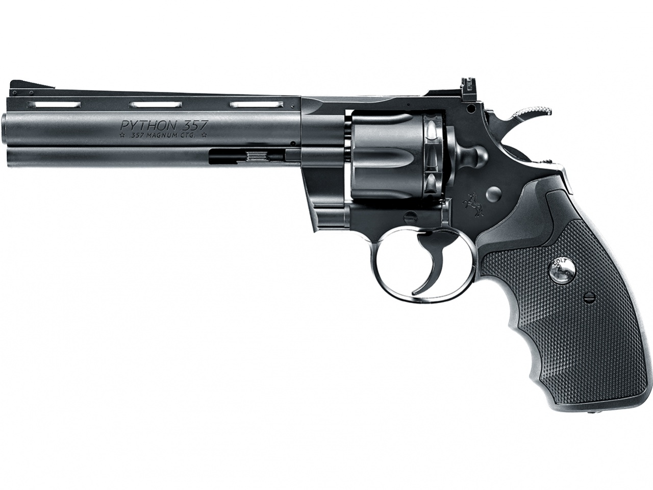 "Wiatrówka rewolwer Colt Python 6"" černý DIABOLO/BB"