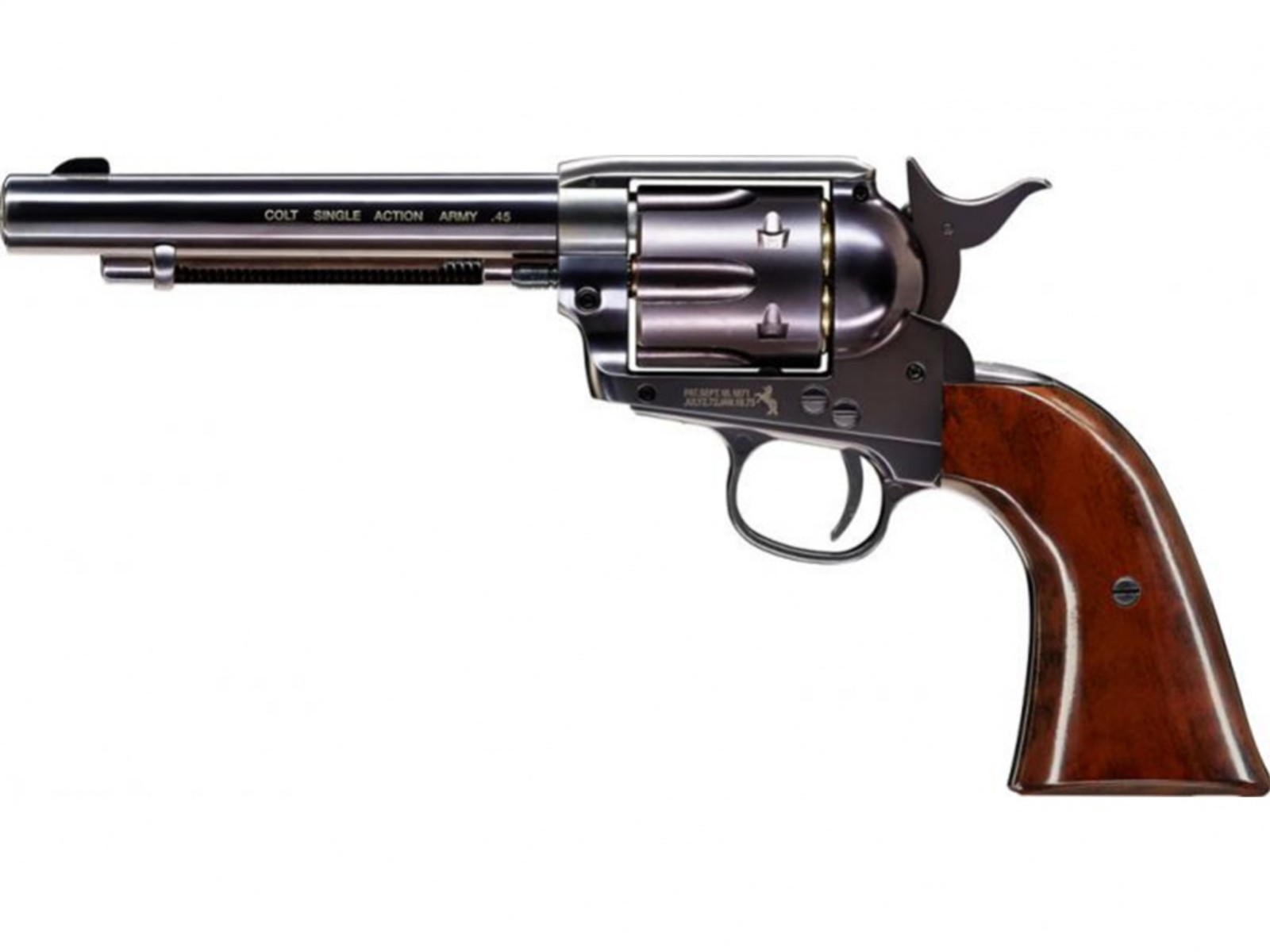 Wiatrówka rewolwer Colt Single Action Army SAA .45 blued