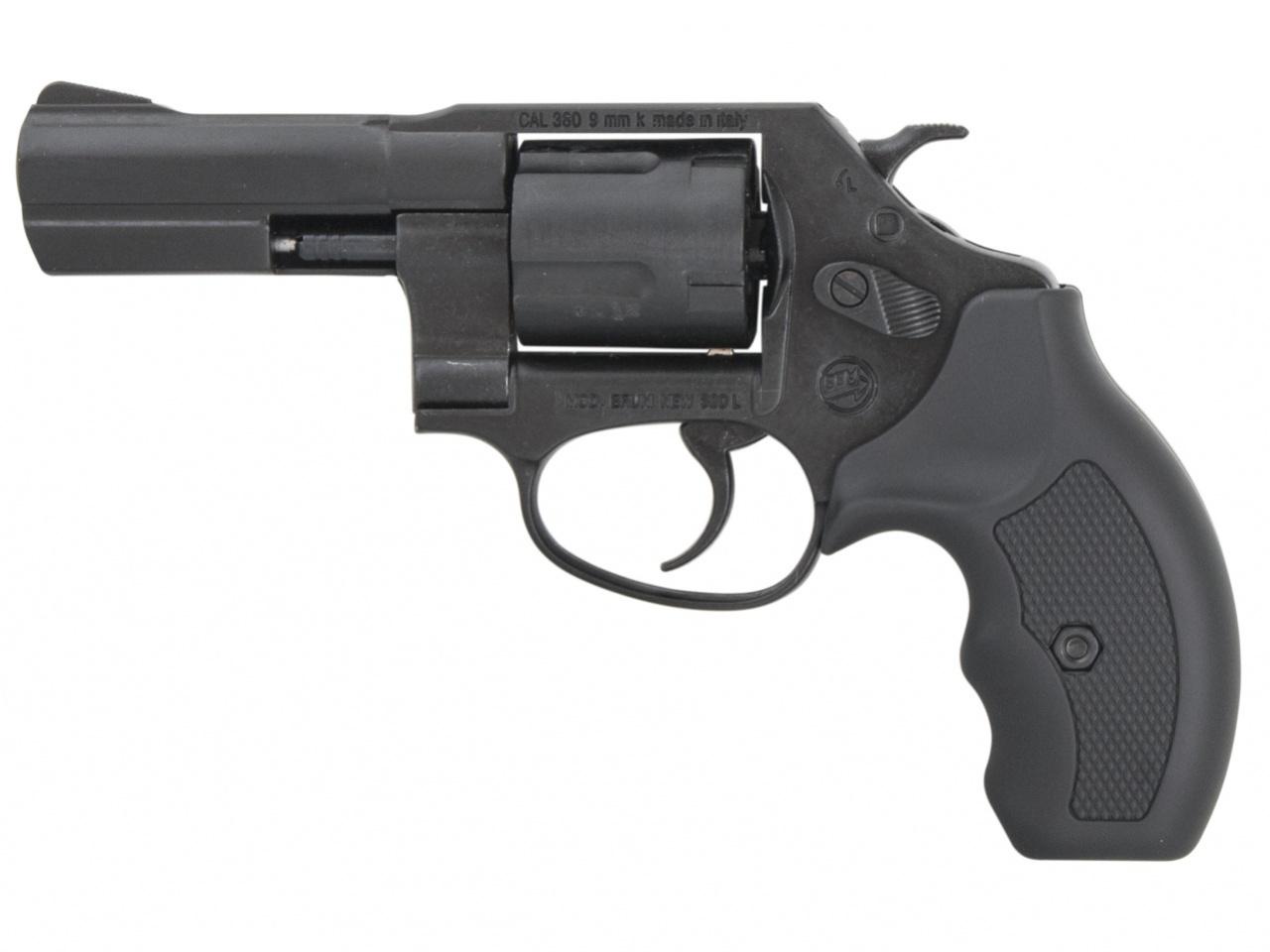 "Rewolwer gazowy Bruni New 380 Python 3"" czarny kal.9mm"