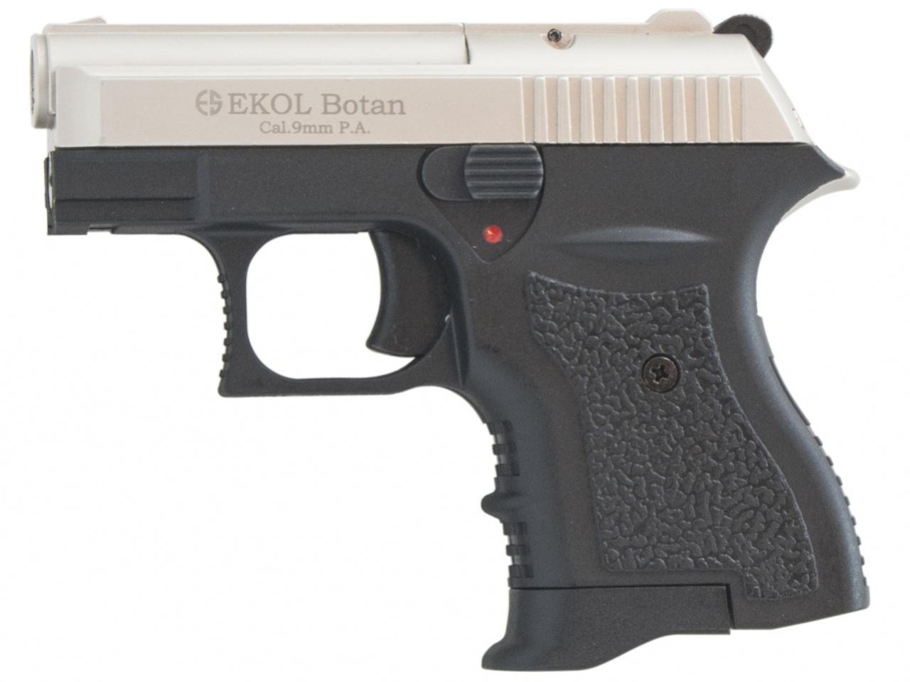 Pistolet gazowy Ekol Botan satyn nikiel kal.9mm