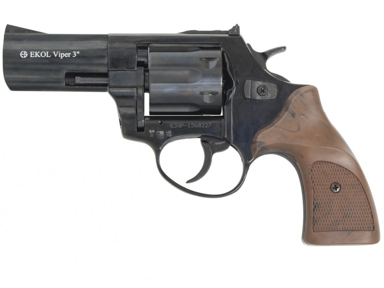 """Rewolwer gazowy Ekol Viper 3"""" czarny kal. 9mm"""