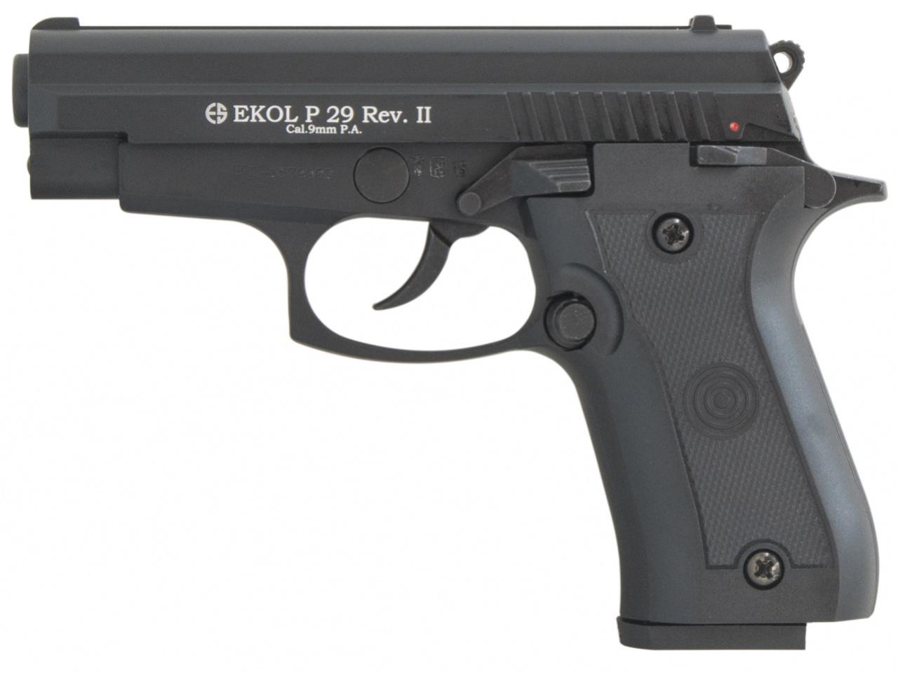 Pistolet gazowy Ekol P29 REV II czarny kal.9mm