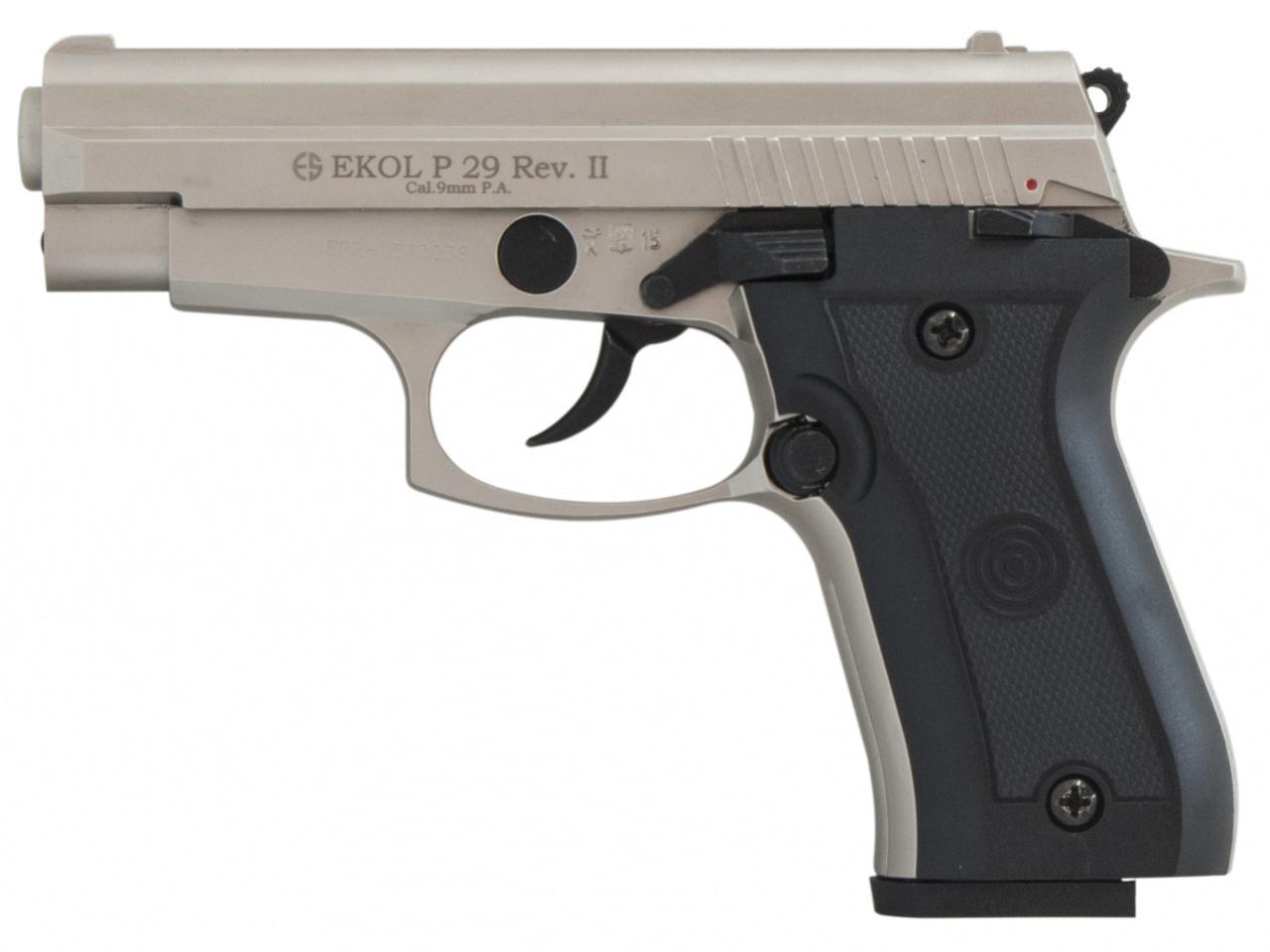 Pistolet gazowy Ekol P29 REV II satyn kal.9mm