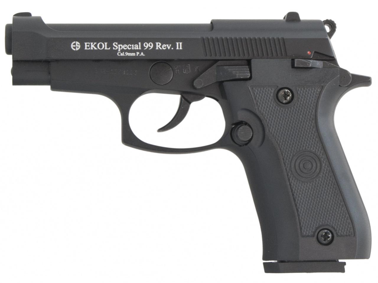 Pistolet gazowy Ekol Special 99 REV II czarny kal.9mm