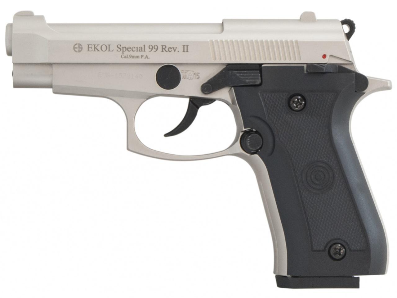 Pistolet gazowy Ekol Special 99 REV II satyn kal.9mm