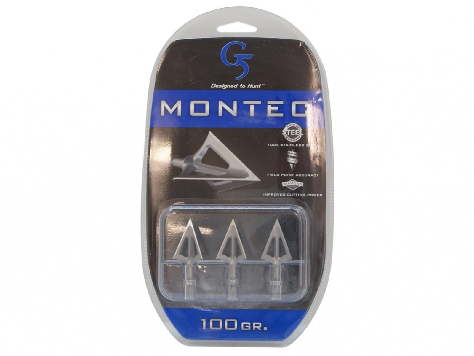 Groty myśliwskie G5 Montec 3 szt.