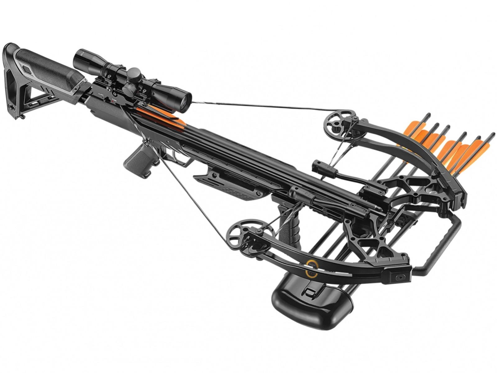 Kusza Beast Hunter Ballistic 410 200lb black