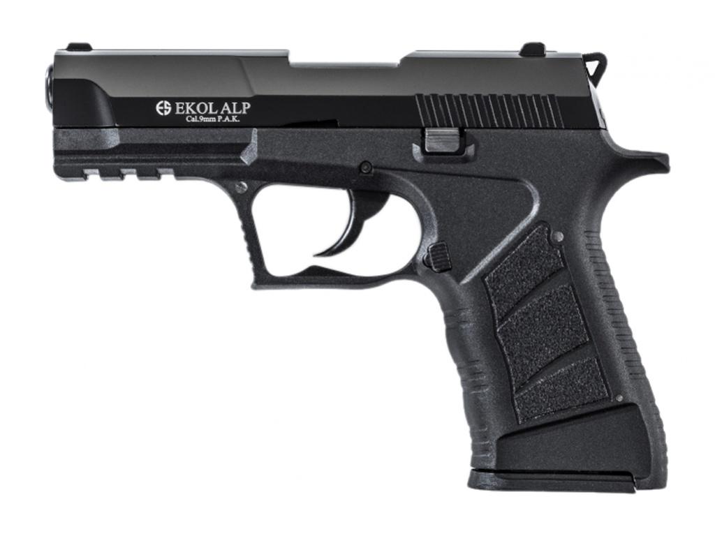 Pistolet gazowy Ekol Alp czarny kal.9mm