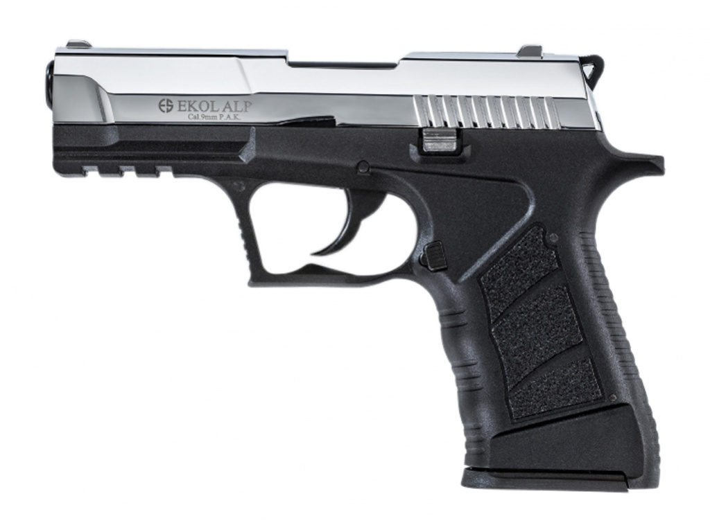 Pistolet gazowy Ekol Alp chrom kal.9mm