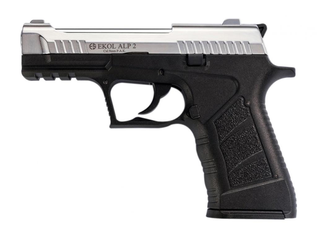 Pistolet gazowy Ekol Alp 2 chrom kal.9mm
