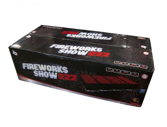 Fireworks Show 222 strzałów / 30 i 50 mm