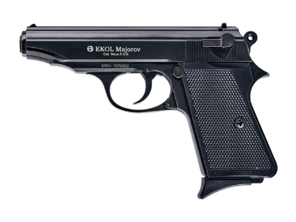 Pistolet gazowy Ekol Majarov czarny kal.9mm