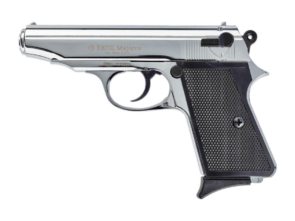 Plynová pistole Ekol Majarov chrom cal.9mm