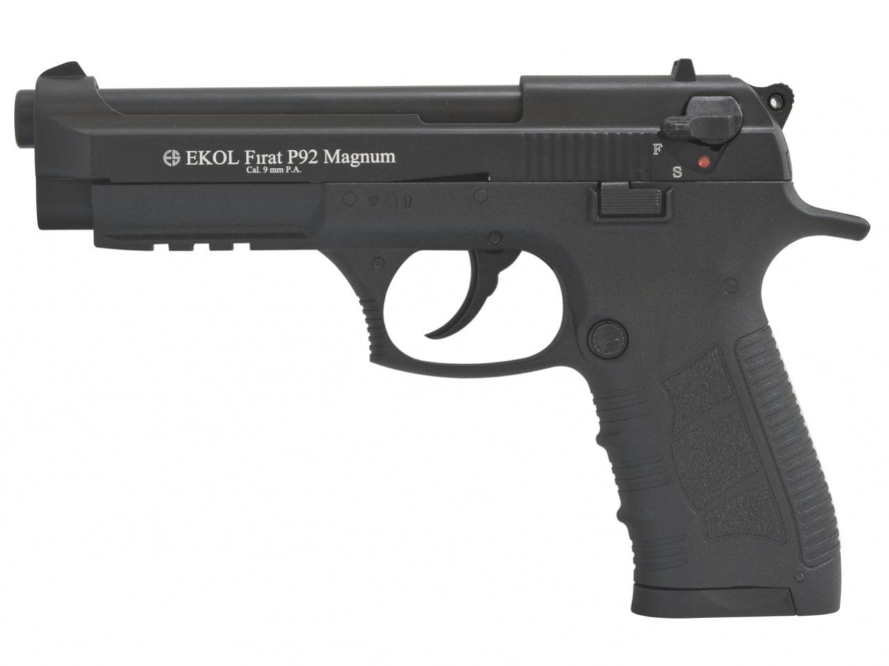 Pistolet gazowy Ekol Firat Magnum P92 czarny kal.9mm