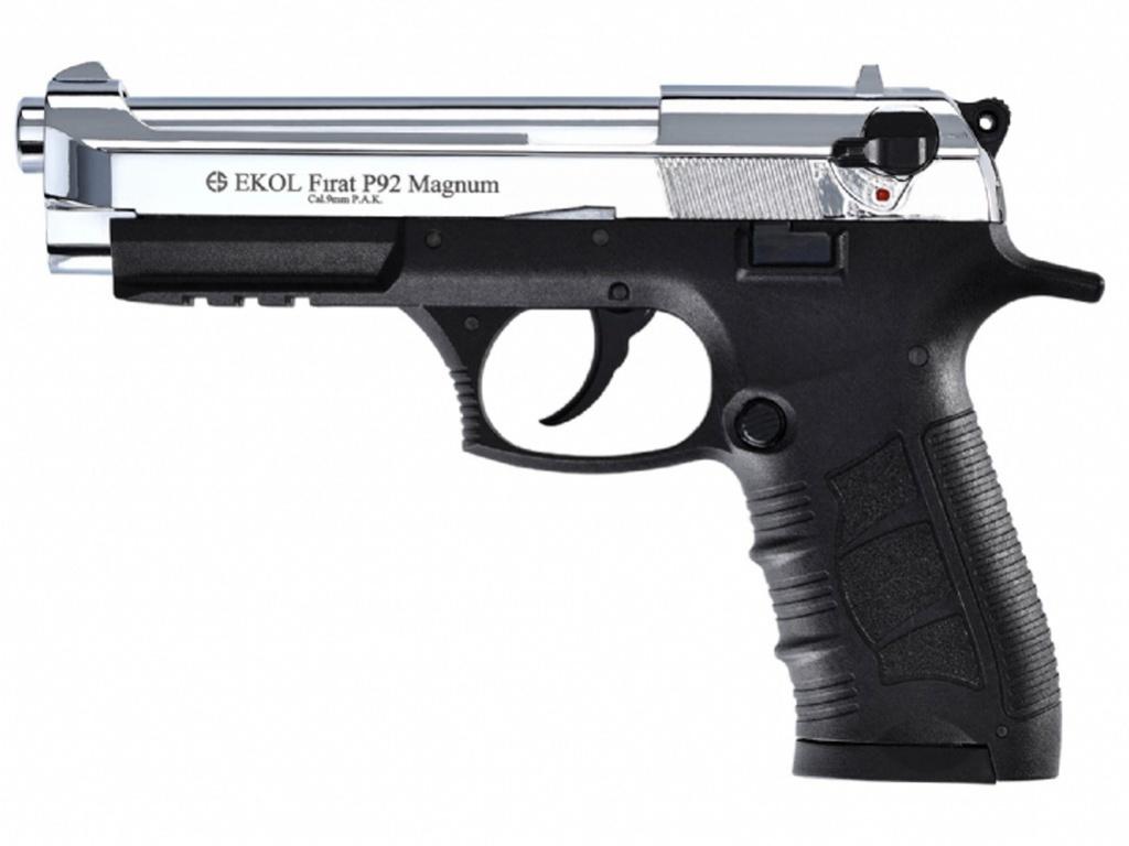 Pistolet gazowy Ekol Firat Magnum P92 chrom kal.9mm