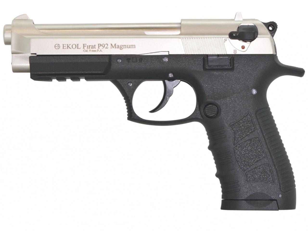 Pistolet gazowy Ekol Firat Magnum P92 satyn kal.9mm