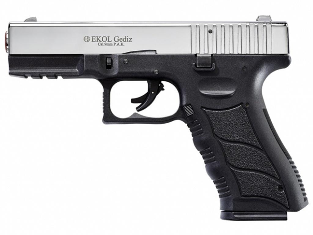 Pistolet gazowy Ekol Gediz chrom kal.9mm