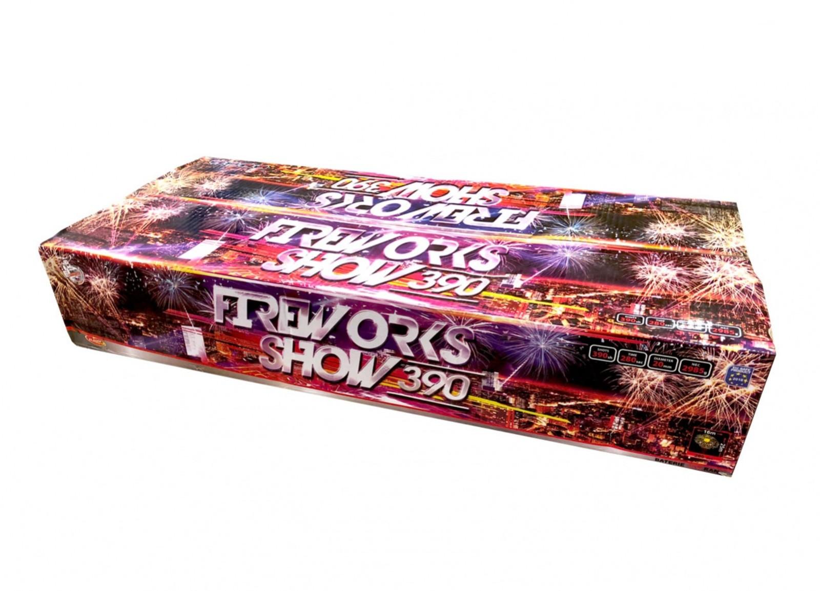 Wyrzutnia 390 strzałów / 20mm Fireworks show